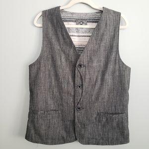 Sitka Men's Punk M Tweed-Style Vest Grey cotton